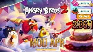 Download Angry Birds 2 Mod Apk Latest Version ( unlimited energy) 3
