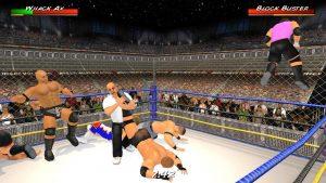 Download Wrestling Revolution 3D Mod APK latest 2021(Unlock All) 4