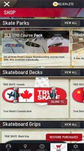 True Skate Mod Apk Latest Download (Unlimited Money/Unlocked levels) 4