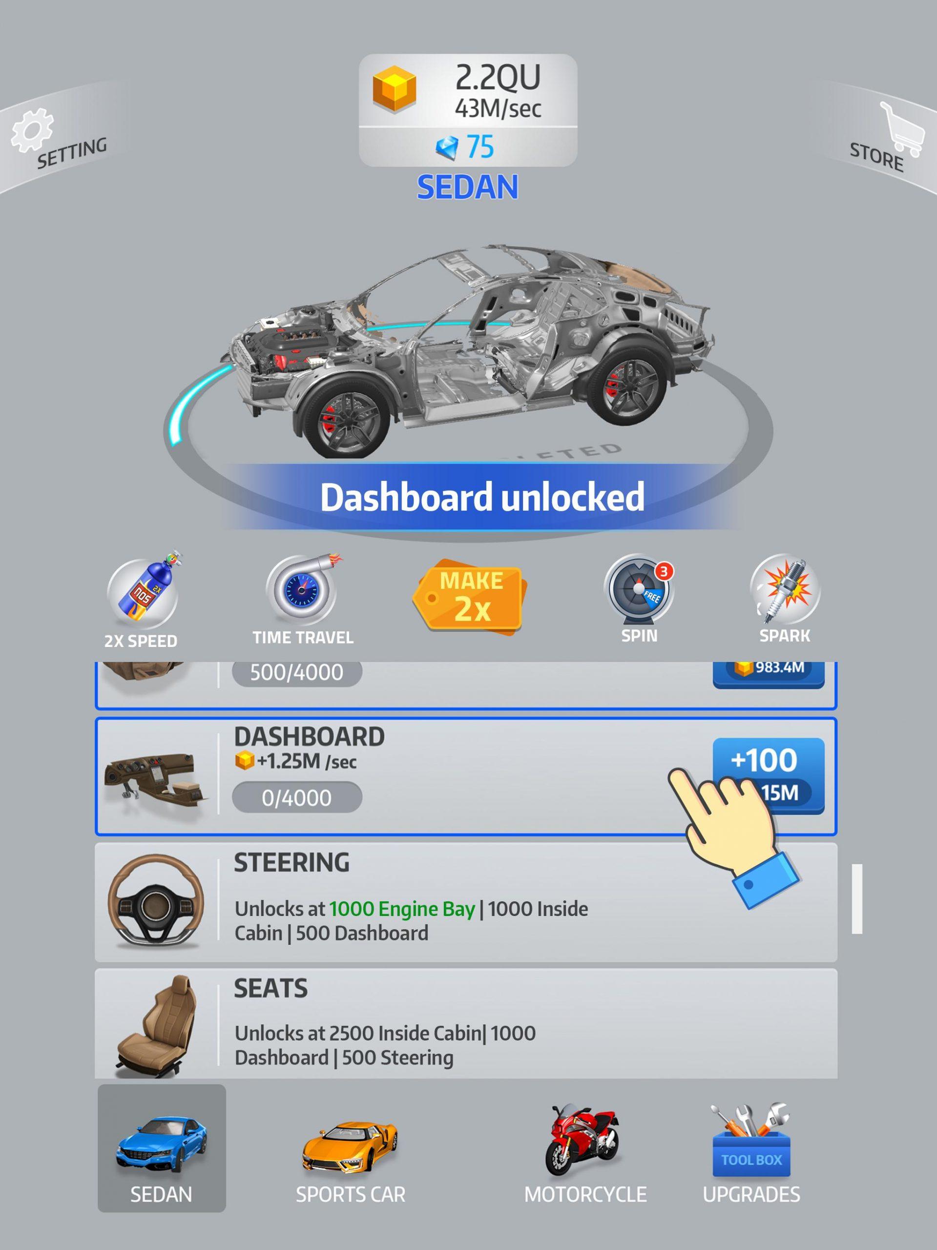 Idle Car Mod Apk Latest Version (Unlimited Money) 1